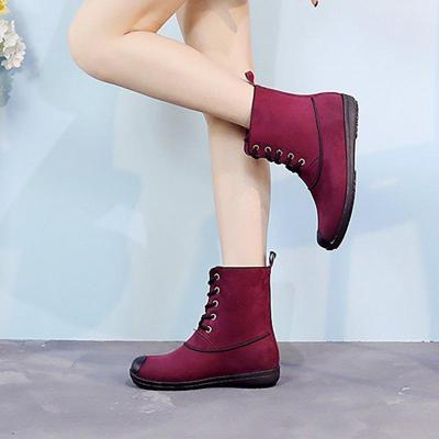 Women Rain Booties Casual Comfort Shoes