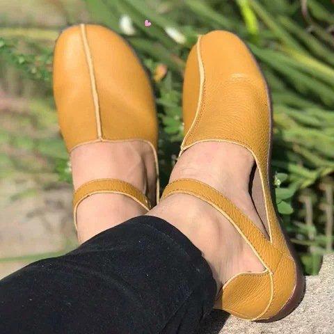 Pu Flat Heel Loafers