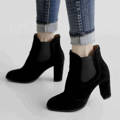 Womens Spring/Fall Casual PU Martin Boots