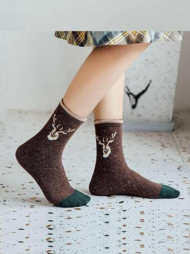 Warm Comfortable Wool-Blend Socks