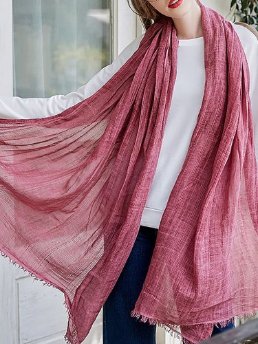 Basic Solid Long Comfortable Scarf