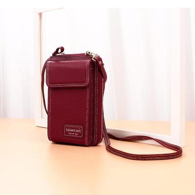 Women Large Capacity Multi-slots Phone Bag Long Wallet Clutch Bag