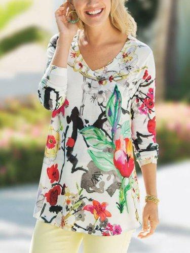 Women plus size casual tops