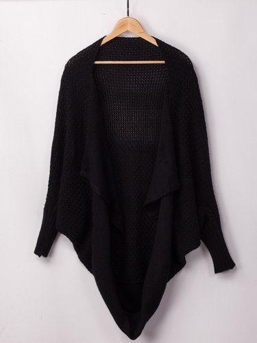 Casual Cocoon Sweater Coat