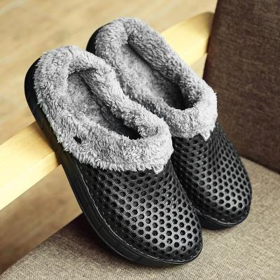 Women Closed Toe Warm Plus Size Slippers Casual Shoes