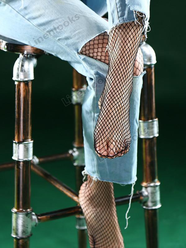 Fishnet Socks Sex Lace Hollow Out Mesh Socks
