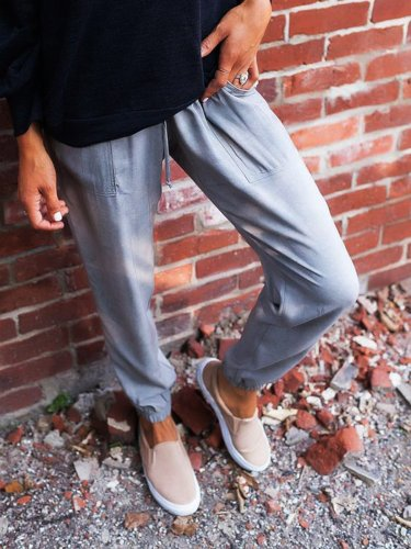 Women Cotton-Blend Pants
