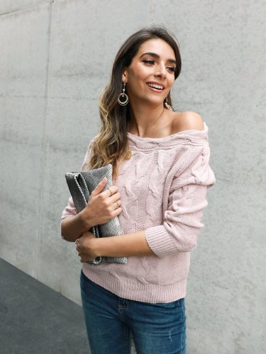 Holiday Off Shoulder Sweater