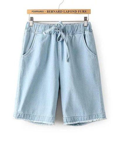 Summer Casual Pockets Loose Pants