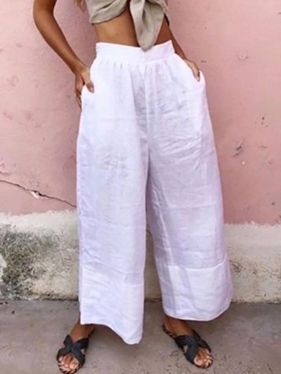 Casual Wide Leg Pants
