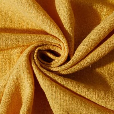 Soft Linen Cotton Fabric Organic Material Pure Natural Flax Cambric Eco DIY Clothes Patchwork Fabric