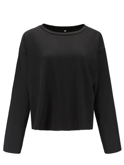 Solid Casual Polyester Blouses & Shirt