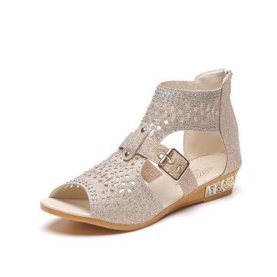 Women Sandalia Casual Rome Summer Shoes Fashion Rivet Gladiator Sandals