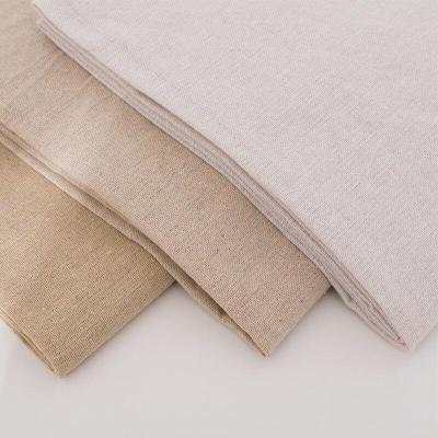 1meter Raw cloth faux Linen fabric rough solid polyester cotton fabric for sewing storage bag and pillow case background cloth