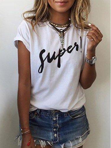 Leopard Short Sleeve Cotton Shirts & Tops