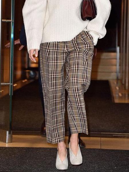 Checkered/plaid Vintage Shift Pants