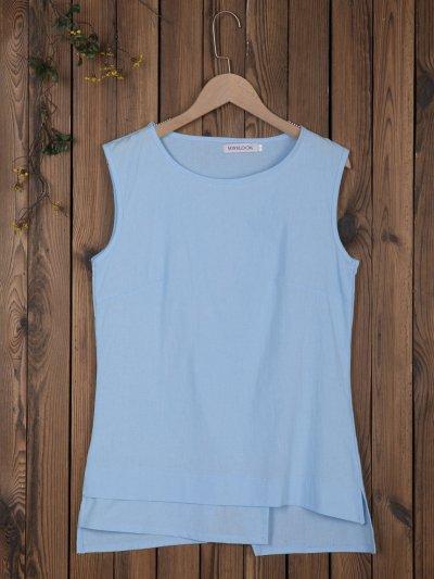 Women Summer Plain Tanks Sleeveless Casual Tops