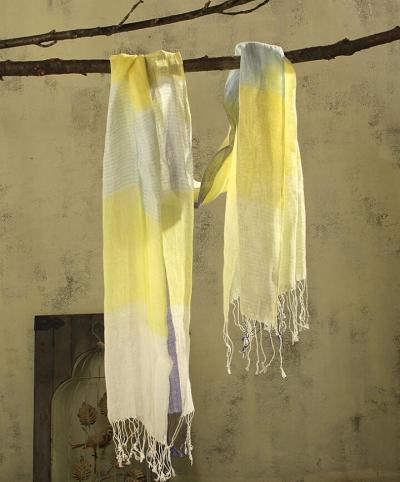 100% Linen Plaid Women Winter Scarf 2020 High Quality Hijab Fashion Foulard Shawls Scarves 65x190cm