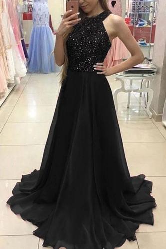 Fashion Lace Slim Evening Dress