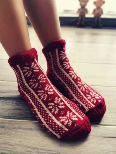 Christmas Women Casual Underwear & Socks