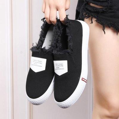 Women Flats Loafers Casual Round Slip On Shoes