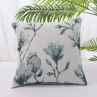 Cotton And Linen Color Geometric Print Pillowcase