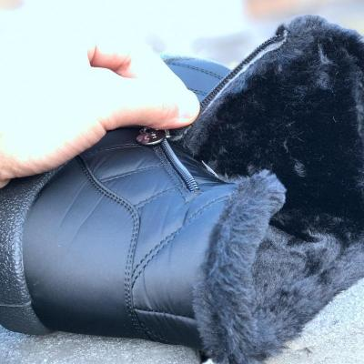 Women Snow Booties Casual Comfort Plus Size Shoes