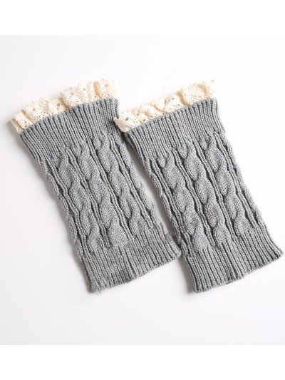 Knitted Lace Ankle Socks