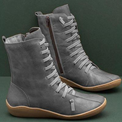 Women Vintage Style Soft Sole Boot Shoes