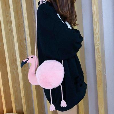 Flamingo Casual Cute Crossbody Bags