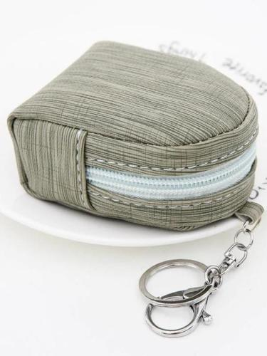 Mini Portable Coin Purse Keychain Bag Card Holder Bag