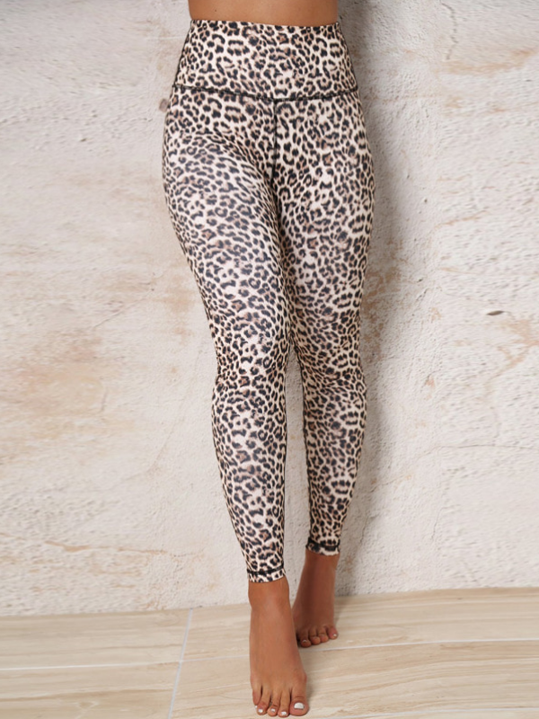 Leopard Yoga Hip Sexy Leggings