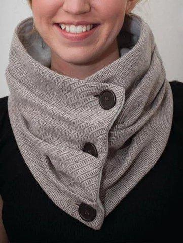 Turtleneck Casual Scarves & Shawls