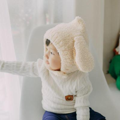 Rabbit Ear Baby Hat Thick Warm Cartoon Cute Pullover Hat