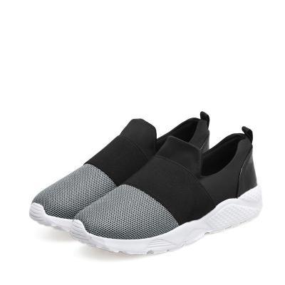 Comfortable Fabric Women Slip-On Sneakers