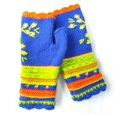 Autumn and Winter Women's Warm Knitted Gloves