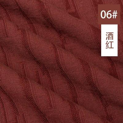 50x145cm Double Thicken Cotton Linen Jacquard Fabric Soft Cotton Yarn Cloth DIY Sewing Clothes Dress Craft Material