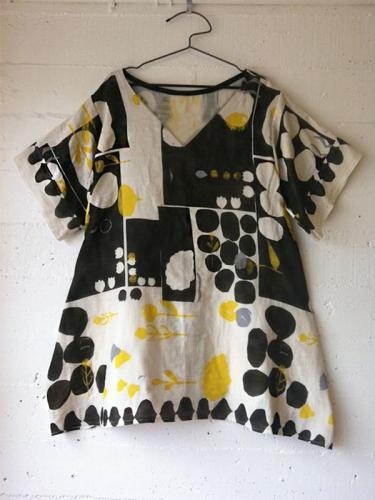 Women's Casual Short Sleeve Crew Neck Polka Dots Tops