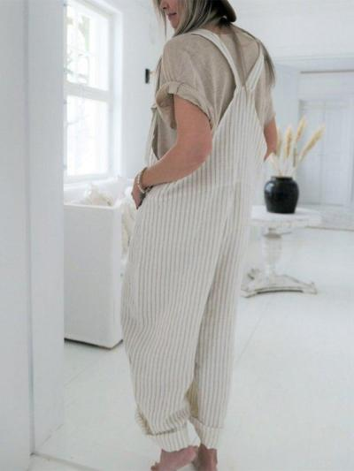 Casual Cotton One-Pieces
