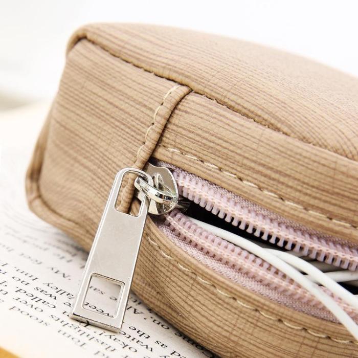 Mini Portable Coin Purse Keychain Bag Card Holder Bag