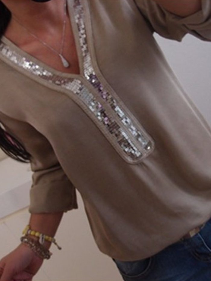 White Casual Cotton-blend Blouses & Shirt