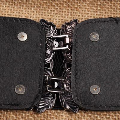 Women Carved Vintage Artificial Belt