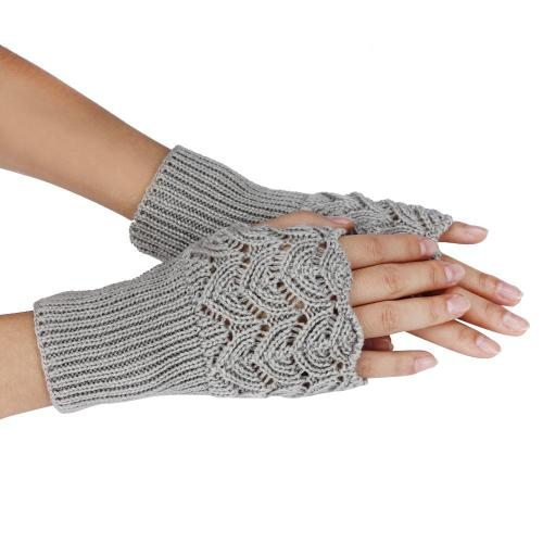 Autumn Winter Gloves Warm Fingerless Sports Touch Screen Gloves