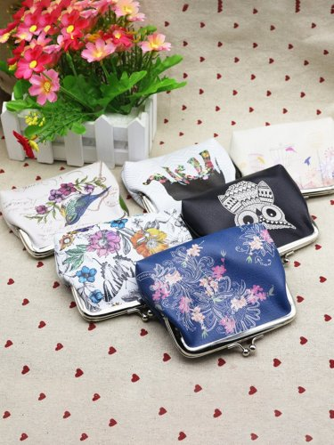 Creative PU Coin Purse 12*10cm