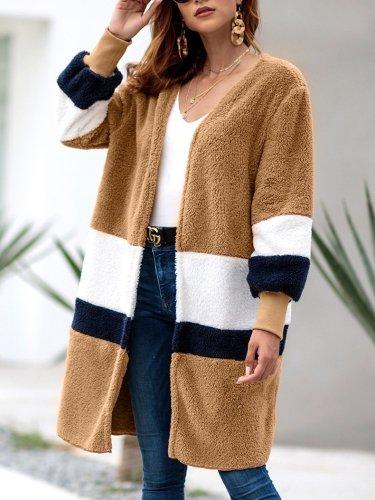 Autumn/Winter Hot Style Fur Baggy Cardigan Coat