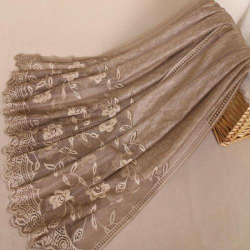 2019 Fashion Plain Embroider Floral Viscose Shawl Scarf Lady High Quality Lace Chain Wrap Neck Stole Muslim Hijab Snood 180*75Cm