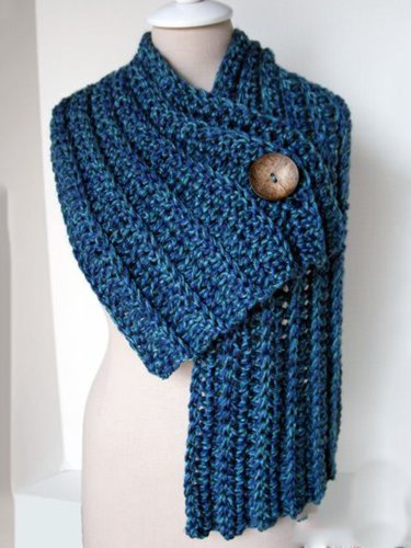 Women's  Casual Solid Round Neck Scarves & Shawls