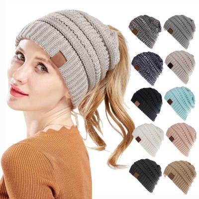 Women Stretch Knitted Crochet Winter Hats