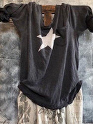 Women Casual Tops Tunic T Shirt