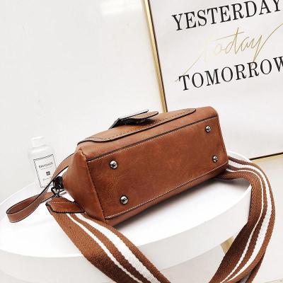 Large Capacity Vintage Tote Crossbody Bag